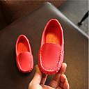 זול נעלי ילדים אתלטי-בנים מוקסין דמוי עור נעליים ללא שרוכים פעוט (9m-4ys) / ילדים קטנים (4-7) / ילדים גדולים (7 שנים +) כחול / ורוד / כחול ים אביב / קיץ