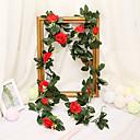 זול פרחים מלאכותיים-פרחים מלאכותיים 1 ענף קלאסי חתונה סגנון מינימליסטי ורדים פרחים נצחיים פרחים לקיר