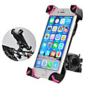 Недорогие Бардачки на руль-ROCKBROS Крепление для телефона на велосипед Противозаносный Anti-Shake Полет с возможностью вращения на 360 градусов для Шоссейный велосипед Горный велосипед Велосипедный мотокросс PVC iPhone X