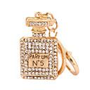 זול שרשראות מפתח-שרשרת מפתחות בקבוק אופנתי Fashion Ring תכשיטים זהב ורד עבור קזו'אל יומי