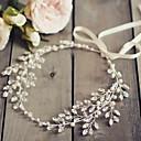 זול הד פיס למסיבות-סגסוגת שרשרת ראש עם מתכת יחידה 1 חתונה / אירוע מיוחד כיסוי ראש