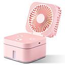 povoljno Stolne svjetiljke-kreativni usb mali ventilator rubik's kocka ovlaživač visokog kapaciteta sprej vlaži hidratantni uredski spavaonica desktop fan
