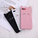 hesapli iPhone Kılıfları-Iphone 8 için artı case arka yumuşak kapak tpu kedi kedi kulak sakal silikon yumuşak aşağıdaki yumuşak tpu iphone x 7 artı 7 6 artı 6 8