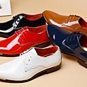 זול נעלי אוקספורד לגברים-בגדי ריקוד גברים נעליים פורמליות עור פטנט אביב קיץ / סתיו חורף עסקים / בריטי נעלי אוקספורד שחור / אדום / כחול / מסיבה וערב