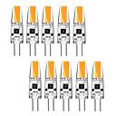 billige LED Strip Lamper-kwb 10 stk 3 watt g4 ledd bi-pin base 12v lyspære varm hvit og hvit halogen g4 30w led erstatning