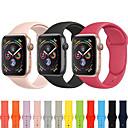hesapli Smartwatch Bantları-Watch Band için Apple Watch Series 4/3/2/1 Apple Spor Bantları Silikon Bilek Askısı