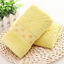 זול מגבת רחצה-איכות מעולה מגבת רחצה, אחיד כותנה טהורה 2 pcs