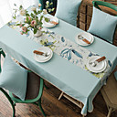 cheap Table Cloths-Classic polyester fibre Square Table Cloth Solid Colored Table Decorations