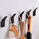 זול מתלים לחלוק-וו תליה לחלוק יצירתי Fun & Whimsical אלומיניום 5pcs - חדר אמבטיה / אמבטיה מותקן על הקיר