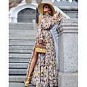 זול שמלות שושבינה-גזרת A קולר עד הריצפה פוליאסטר נשף רקודים / ערב רישמי שמלה עם על ידי LAN TING Express