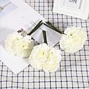 זול פרחים מלאכותיים-פרחים מלאכותיים 1 ענף קלאסי מסורתי ציפורן פרחים לשולחן