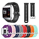זול בטיחות-ספורט סיליקון שעון הלהקה wristband פרק כף היד עבור fitbit יונית שעון חכם
