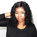 זול פיאות תחרה משיער אנושי-שיער אנושי 13x6 סוגר פאה תספורת בוב תספורת אסימטרית עמוק הפרידה בסגנון שיער פרואני מתולתל טבעי פאה 150% צפיפות שיער עם שיער בייבי שיער טבעי פאה אפרו-אמריקאית לנשים שחורות ללא שם: עם קשרים בליצ '
