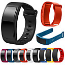 cheap Smart Wristbands-Watch Band for Gear Fit Pro / Gear Fit 2 Samsung Galaxy Sport Band Silicone Wrist Strap