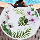 זול מגבת חוף-איכות מעולה מגבת חוף, פרחוני  בוטני 100% סיב מיקרו 1 pcs