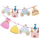 זול ימי הולדת-קישוטים לחג חגים ומועדים חפצים דקורטיביים Party צהוב 2pcs
