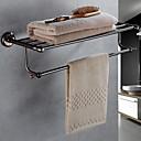 זול מוטות למגבות-מתלה מגבת יצירתי עכשווי פליז 1pc - חדר אמבטיה מותקן על הקיר