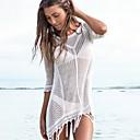 זול חליפות רטובות,חליפות צלילה וחולצות ראש-גארד-בגדי ריקוד נשים בגד ים מכסים בגדי ים הגנה מפני השמש UV ייבוש מהיר שרוול ארוך שחייה גלישה ספורט מים טלאים סתיו אביב קיץ