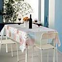 זול כיסויי שולחן-עכשווי קלסי סיבי פוליאסטר ריבוע כיסויי שולחן פרחוני מעוטר מדפיס ידידותי לסביבה עמיד לחום לוח קישוטים