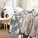 זול שמיכות וכיסויי מיטה-נוֹחַ - 1 יחידה שמיכה קיץ כותנה דפוס