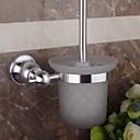 billige Håndklædestænger-Toiletbørsteholder Nyt Design / Sej Moderne Rustfrit stål 1pc Vægmonteret