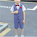 זול דלת חומרה & מנעולים-כחול סקיי כותנה חליפה לנושא הטבעת  - 1set כולל וסט / Pants / קשת