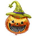 זול בלונים-קישוטים לחג ליל כל הקדושים קישוטים חפצים דקורטיביים דקורטיבי כתום 1pc