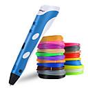 זול שמיכות וכיסויים-Myriwell 3D מדפסת עט Rp-100a חג המולד מתנה חם למכור לצייר 3D הדפסה עט עם חוט נימה חוט אבירים מדפסת לילדים