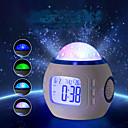 זול כלים לאפייה-1pc מקרן שמים אור / אור הלילה החכם סוללות AAA מנורת אטמוספרה / צילום אורות / שעון <=36 V