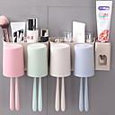 זול גאדג'טים לאמבט-כלים יצירתי / מודרני, חדשני מודרני עכשווי עמ' 3pcs - כלים מברשת שיניים ואביזרים