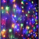 זול דלת חומרה & מנעולים-10מ' חוטי תאורה 100 נוריות Dip Led לבן חם / לבן / אדום Party / דקורטיבי / ניתן להרכבה 220-240 V 1pc / IP44