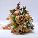 """זול פרחי חתונה-פרחי חתונה זרים חתונה / מסיבת החתונה פרחים מיובשים / פּוֹלִיאֶסטֶר 10.24""""(לערך.26ס""""מ)"""