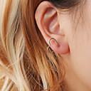 זול שרשראות-בגדי ריקוד נשים עגיל שֵׁם עגילים תכשיטים זהב / שחור / כסף עבור רחוב עבודה פֶסטִיבָל זוג 1