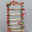 זול פרחים מלאכותיים-פרחים מלאכותיים 1 ענף להתקנה על הקיר מוּשׁהֶה אביזרי במה חתונה ורדים פרחים לקיר