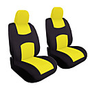 זול כיסויי למושבים לרכב-4pcs / set רכב אוניברסלי המושב הקדמי כרית כיסוי ראש כרית כיסוי לנעול בד המושב כיסוי כרית