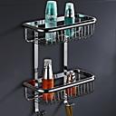 זול מדפי מקלחת-צדף לחדר האמבטיה עיצוב חדש / מגניב עכשווי פלדת על חלד 1pc מותקן על הקיר