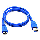 זול USB-LITBest USB 3.0 ל Micro USB 3.0 זכר-זכר 1.0m (3ft) PVC