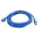 povoljno USB-3m brza brzina usb 3.0 produžni kabel usb kabel muški na ženski kabel za sinkronizaciju podataka