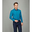 billige Herresneakers-Herre - Ensfarvet Forretning Skjorte Grøn 43
