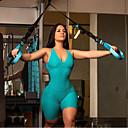 זול צמיד אופנתי-בגדי ריקוד נשים אמון צבע אחיד כושר אמון תחתיות לבוש אקטיבי רך מיקרו-אלסטי רזה