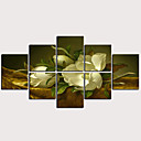 זול הדפסים-דפוס הדפסי בד מגולגל - מופשט פרחוני / בוטני קלסי מודרני הדפסים אמנותיים