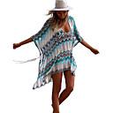 זול חליפות רטובות,חליפות צלילה וחולצות ראש-גארד-בגדי ריקוד נשים בגד ים מכסים בגדי ים הגנה מפני השמש UV ייבוש מהיר שרוולים קצרים שחייה גלישה ספורט מים טלאים סתיו אביב קיץ