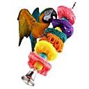 זול אביזרים לציפורים-ציפור מוטות וסולמות ידידותי לחיות מחמד פוקוס צעצוע הרגשתי / צעצועים בד ציפור חומר מיוחד 24 cm