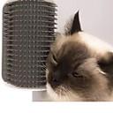 זול כלב ציוד טיפוח-כלבים חתולים מברשות פלסטי מסרקים מברשות מסג' אפור כחול ורוד 1