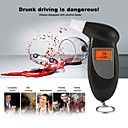 זול טסטרים וגלאים-אלכוהול מבדקים נשימה עם תאורה אחורית אלכוהול אלכוהול alcoholmeter אלכוהול ריכוז מטר נייד דיגיטלי מחזיק מפתחות