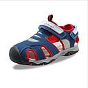 halpa Lasten sandaalit-Poikien PU Sandaalit Comfort Harmaa / Punainen / Sininen Kesä