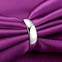 זול צמידי גברים-בגדי ריקוד גברים בגדי ריקוד נשים טבעת הטבעת פתח את הטבעת 1pc כסף נחושת מצופה כסף עגול מסוגנן פשוט רוק יומי עבודה תכשיטים קלאסי יָקָר מגניב