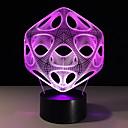 זול אורות 3D הלילה-1pc אור תלת ממדי USB <=36 V
