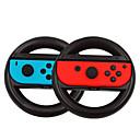 זול אביזרי Nintendo DS-1 זוג ההגה ידיות ההגה מחזיק עבור nintend לעבור שמאל ימין joycon בקר משחק להתמודד