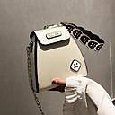 cheap Crossbody Bags-Women's Zipper PU(Polyurethane) / PU Crossbody Bag White / Black / Blushing Pink
